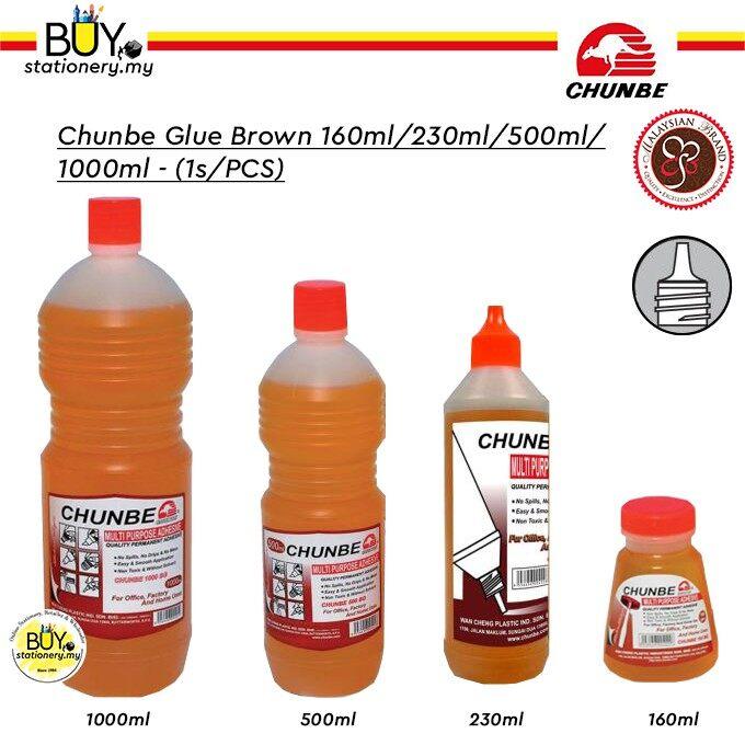 Chunbe Glue Brown 230ml/500ml/1000ml - (1s/BTL)