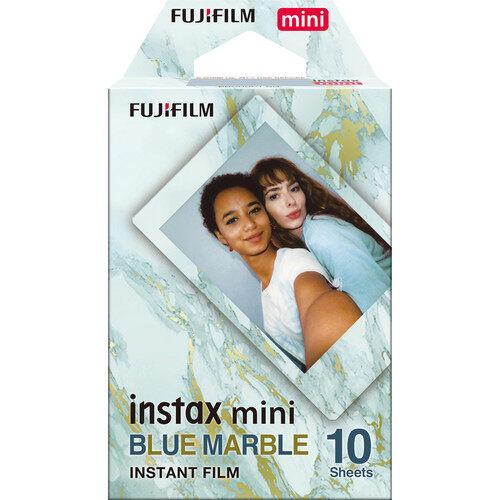 FUJIFILM INSTAX Mini Blue Marble Instant Film (10 Exposures)