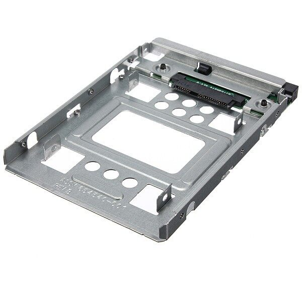 Cool Gadgets - 2.5'' SSD to 3.5'' SATA HDD Hard Disk Drive Adapter Caddy Tray Cage & Screw - Mobile & Accessories