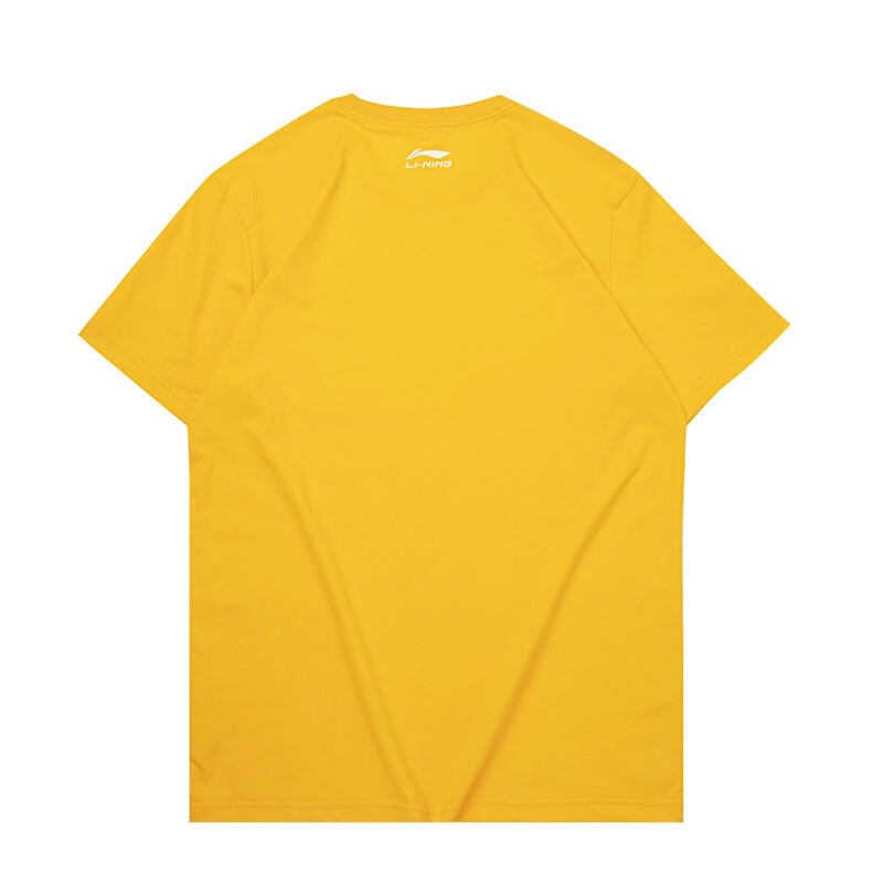 Li-Ning Men's Culture T-Shirt - Yellow AHSQ209-6