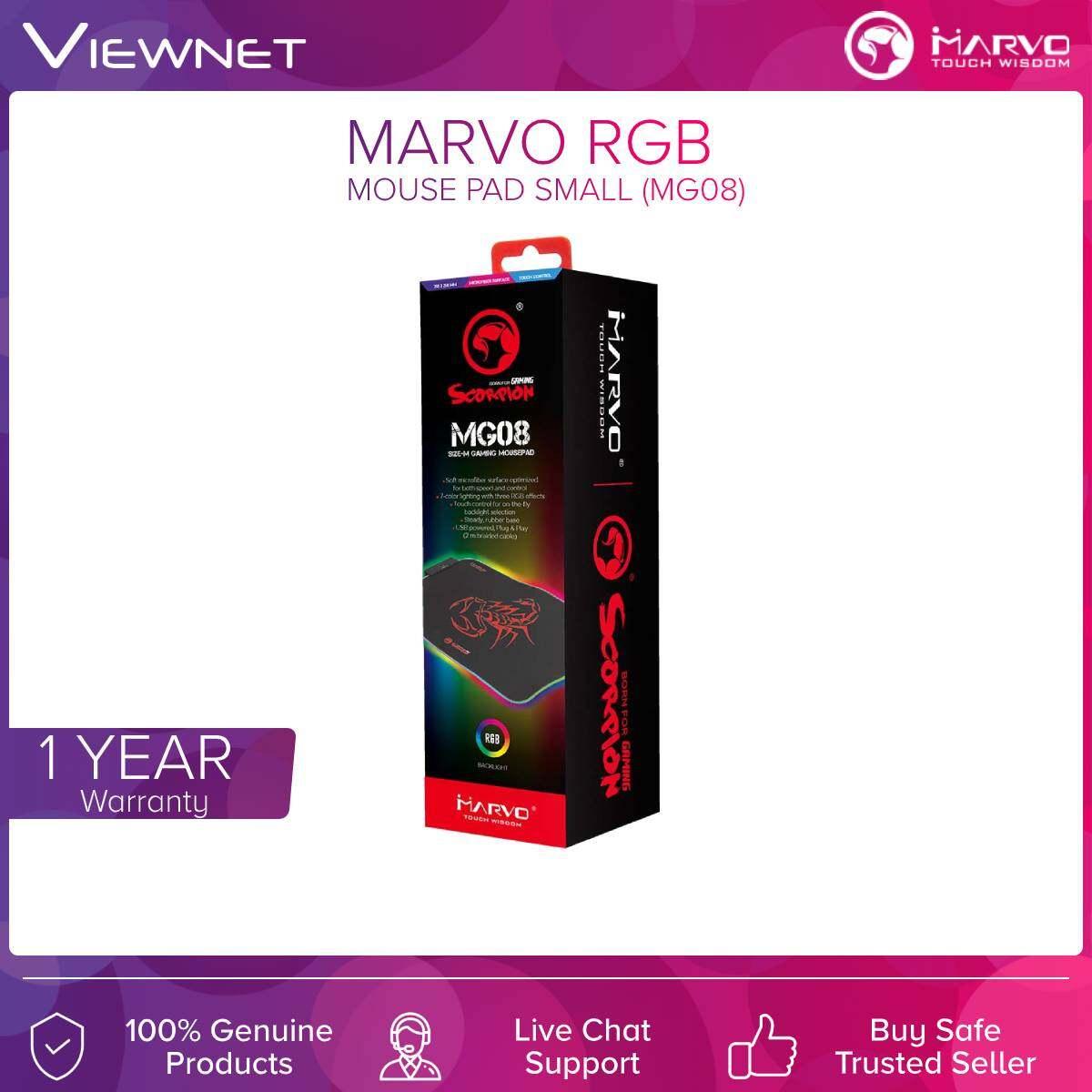 Marvo (MG08) RGB Mouse Pad small