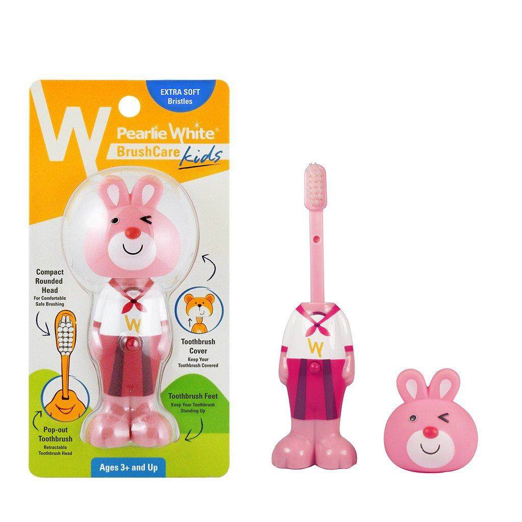 PEARL WHITE BOUNCE-UP KIDS TOOTHBRUSH (BUNNY)