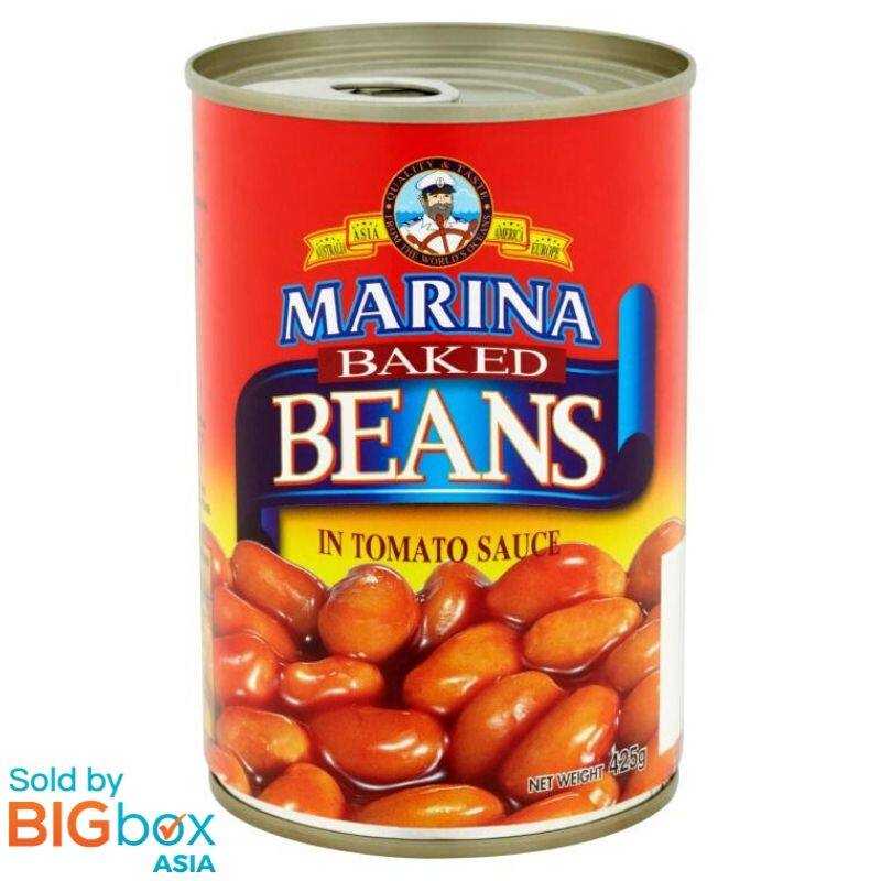 Marina Baked Beans Tomato Sauce 425g