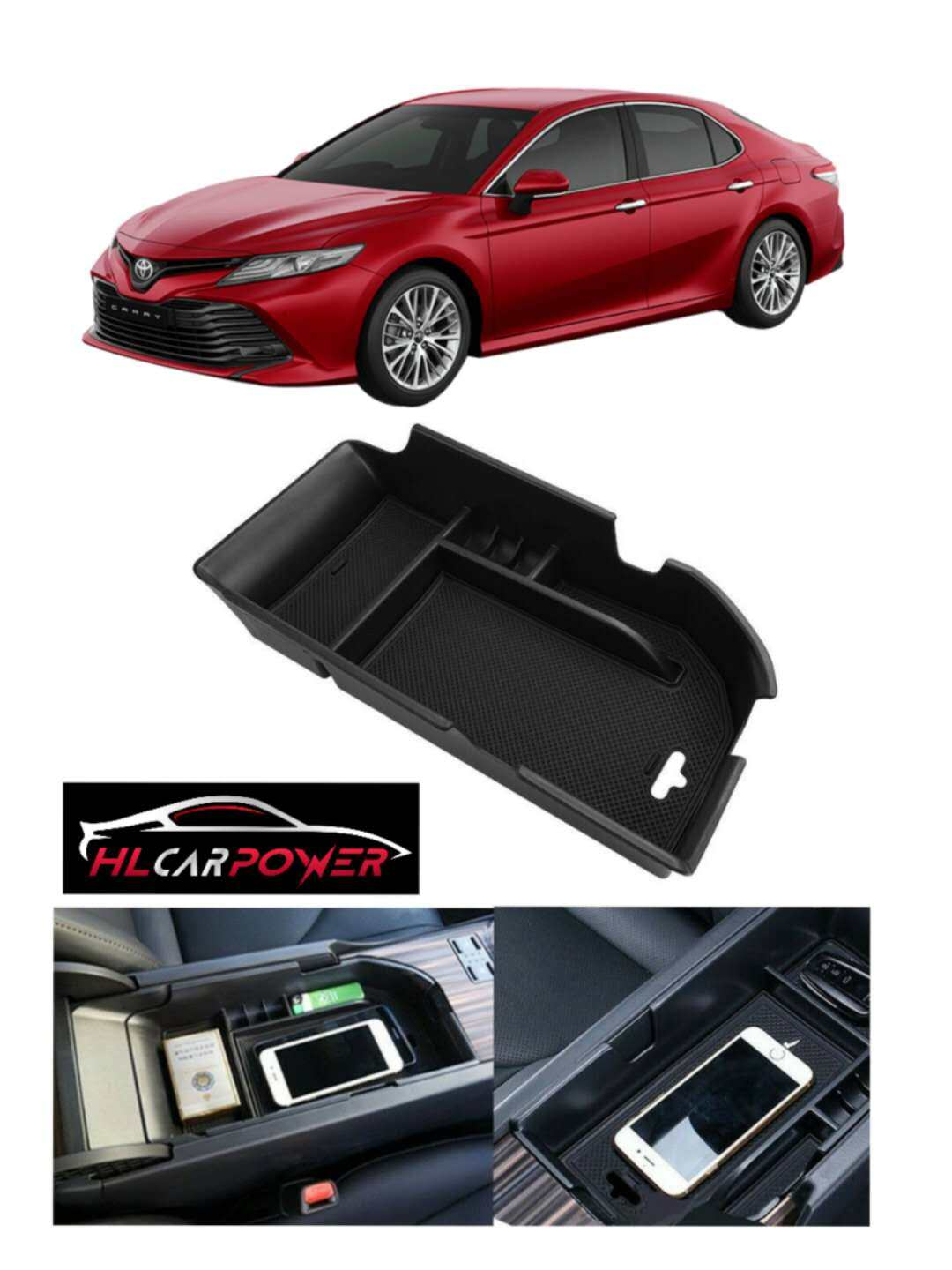 Toyota Camry 2018 Armrest Storage Box Console Tray