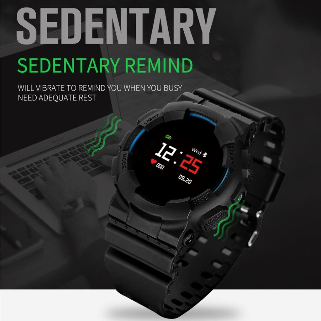 Smart Watch - Smart Watch Waterproof IP67 BLUETOOTH Wrist Android IOS Phone Heart Rate Fitness - RED / BLUE / BLACK / YELLOW