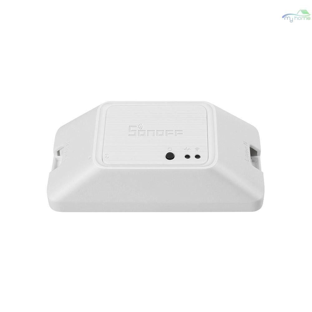 Security & Surveillance - RFR3 WIFI DIY Smart RF Control Switch Works with Alexa & Google Nest / Home Voice - WHITE