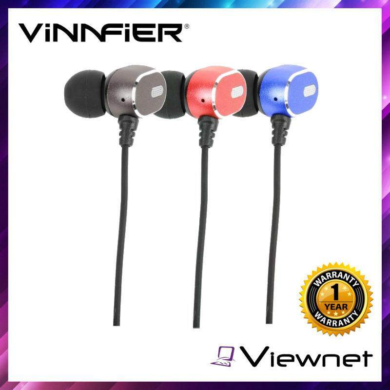 Vinnfier Bluetooth Sporta 8 Headphones (Grey/Red/Blue)
