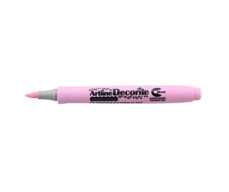 Artline Decorite Brush (EDF-F)  (EDFM-F) Metallic Pink