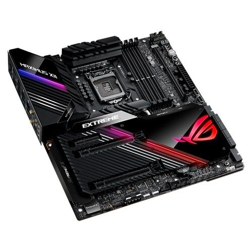 Asus Z490 Rog Maximus XII Extreme Performance E-atx Motherboards Socket 1200, 4 X M.2 Socket, Aura Sync, Ramcache III, Livedash OLED, Armoury Crate