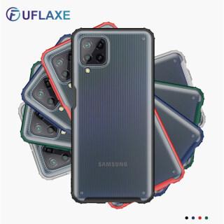 UFlaxe Ốp lưng điện thoại cứng chống va đập cho Samsung M51 M12 M32 M62 siêu mỏng trong suốt mờ Galaxy F52 F62 M02S thumbnail