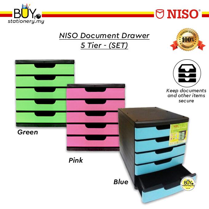 NISO Document Drawer 5 Tier - (SET)