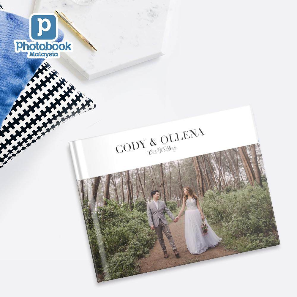 [e-Voucher] Photobook Malaysia 14 x 11 Custom Premium Lay Flat Hardcover Wedding Album with Slip Case