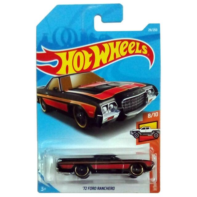 HOT WHEELS 2019 HW Hot Trucks '72 Ford Ranchero (Black)
