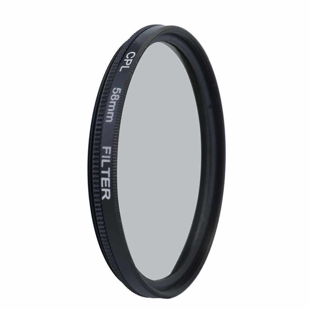 Professional Camera UV CPL FLD Lens Filters Kit and Close-Up Macro Accessory Set Photography Accessories 58mm (2)