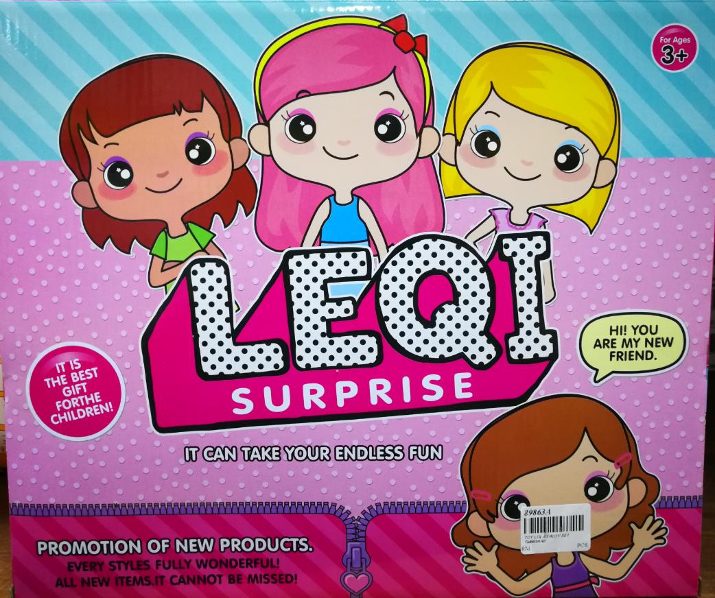 LEQI Surprise Endless Fun Toys Set for girls