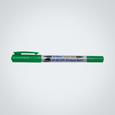 Artline CD-R / DVD Marker (Dual Nib) (EK-841T) Green