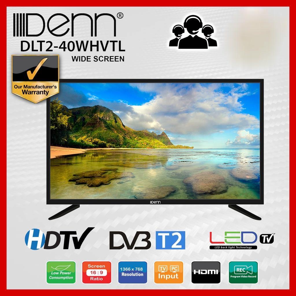 """DENN DLT2-40WHVTL 40"""" DIGITAL TUNER (T2) WIDE FULL HD LED TV"""