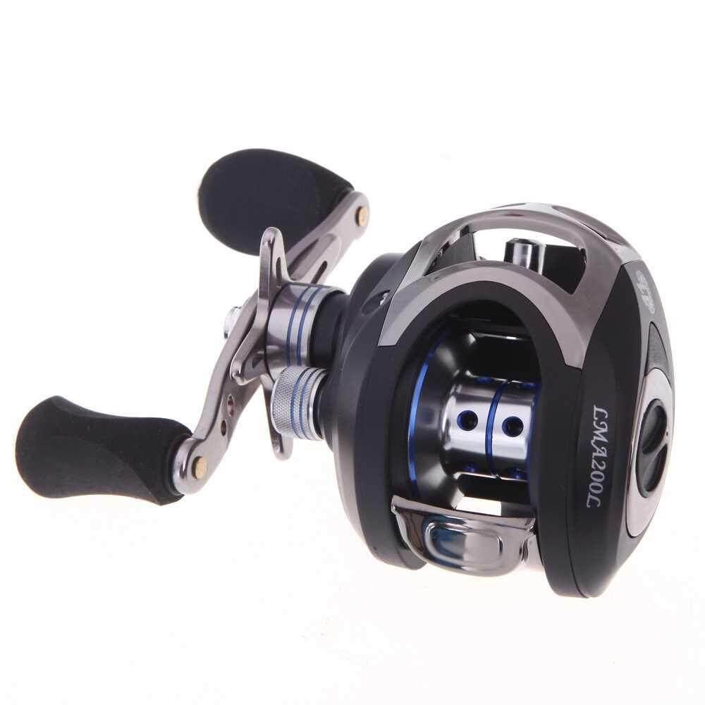 Best Selling LMA200 10+1BB Ball Bearings Left Hand Bait Casting Fishing Reel High Speed