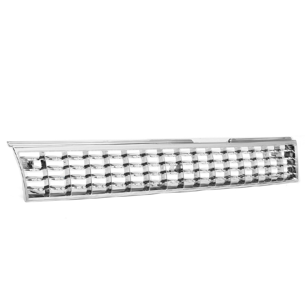 Automotive Tools & Equipment - For 1988-1992 Toyota Corolla AE101 Chrome Crown Billet Style Front Grille Grill - Car Replacement Parts