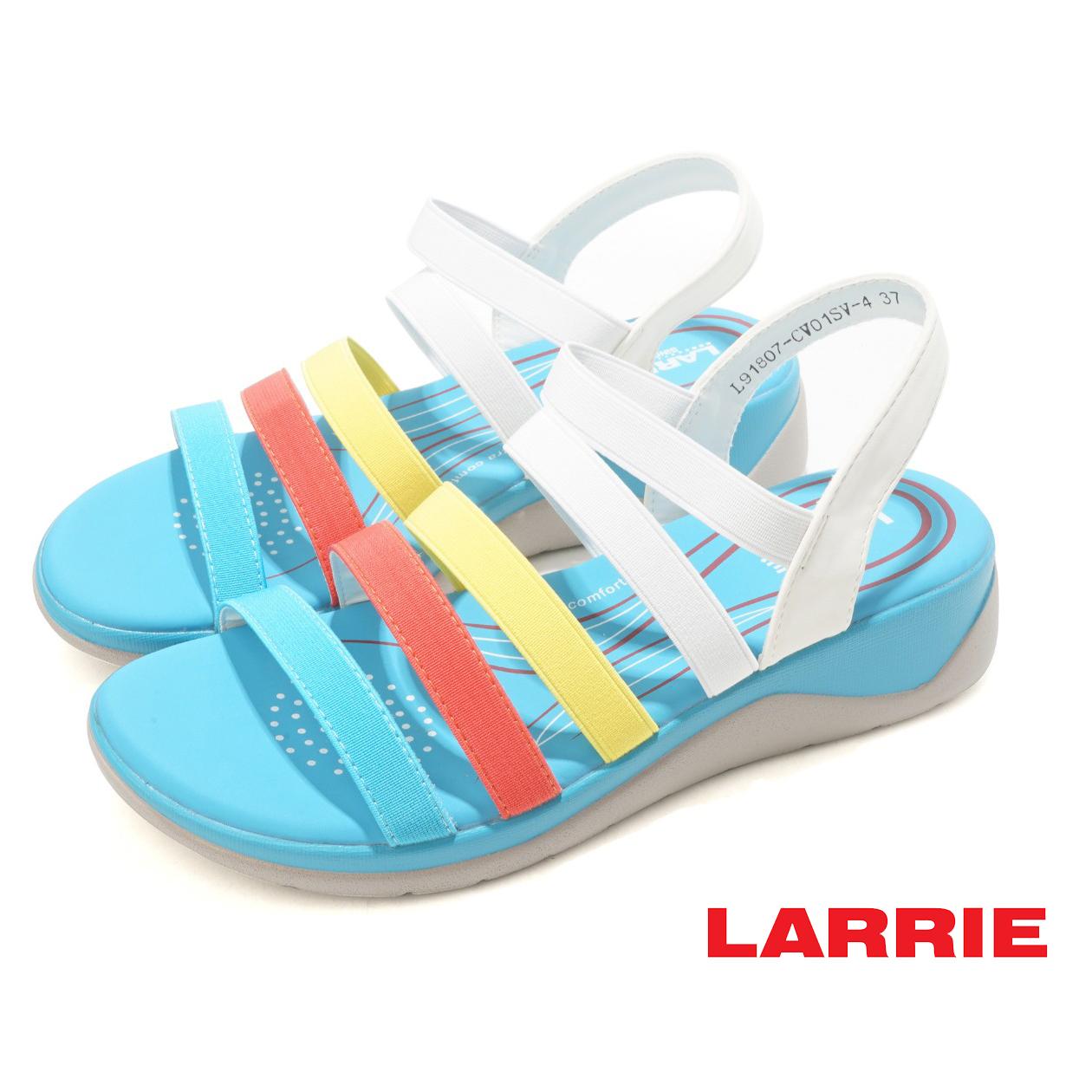 LARRIE Kasut WanitMultiple Strap Sporty Sandals - L91807-CV01SV