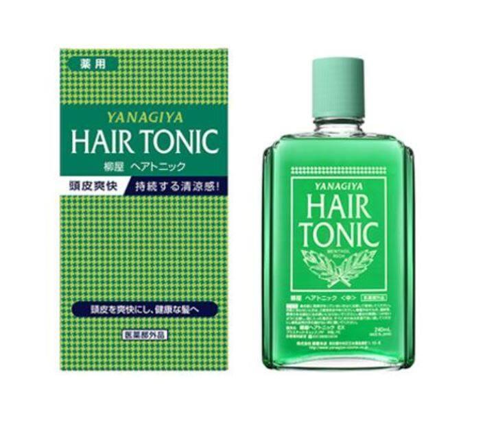 (READY STOCK) YANAGIYA Hair Medicated Hair Growth Tonic 240ml (LOCAL SELLER)