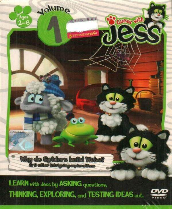 Guess With Jess Vol.1 DVD Asking Thinking Exploring Testing Ideas
