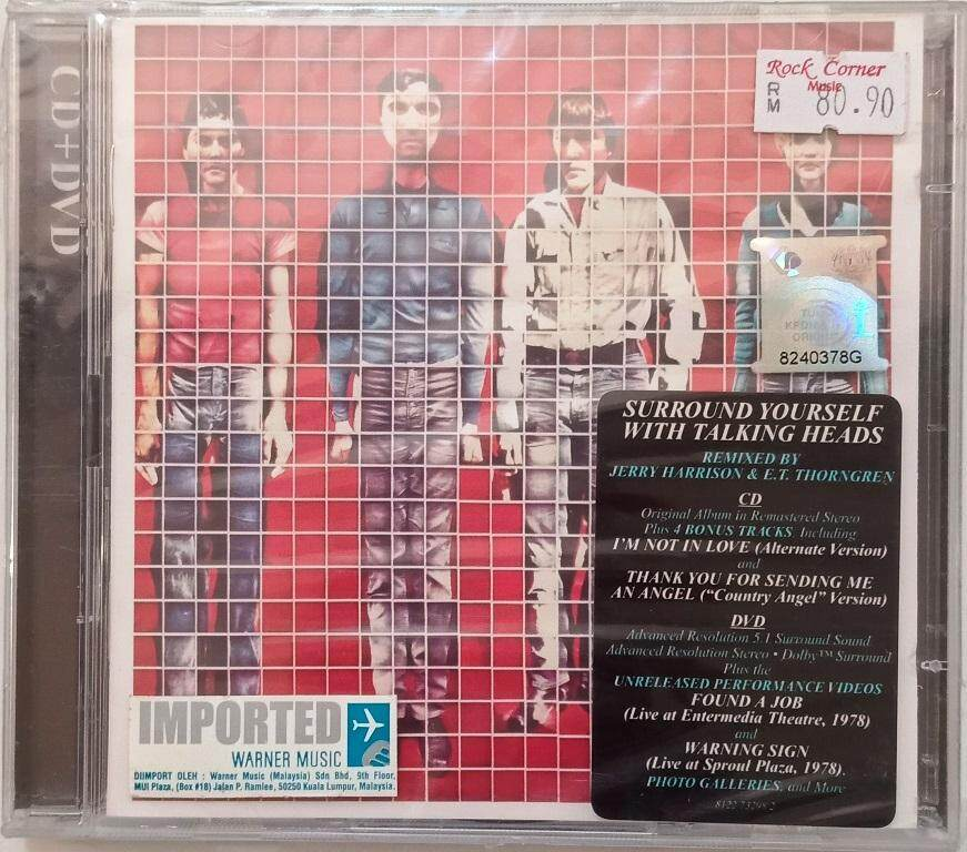 Surround Yourself With Talking Heads CD DVD OFFER