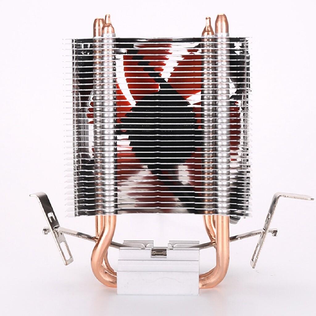 USB Fan - U8 Copper Desktop Computer CPU Radiator Fan W/Superstrong Double Heat - Cool Gadgets