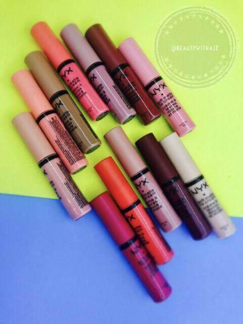 FREE GIFT 12IN1 NYX Velvet Matte Lip Glaze lipstick