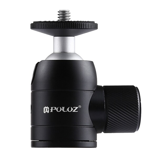 Tripods and Monopods - PU384 MINI 360 Degree Rotation Metal Tripod Ball Head with 1/4 Standard Screw - Camera Accessories