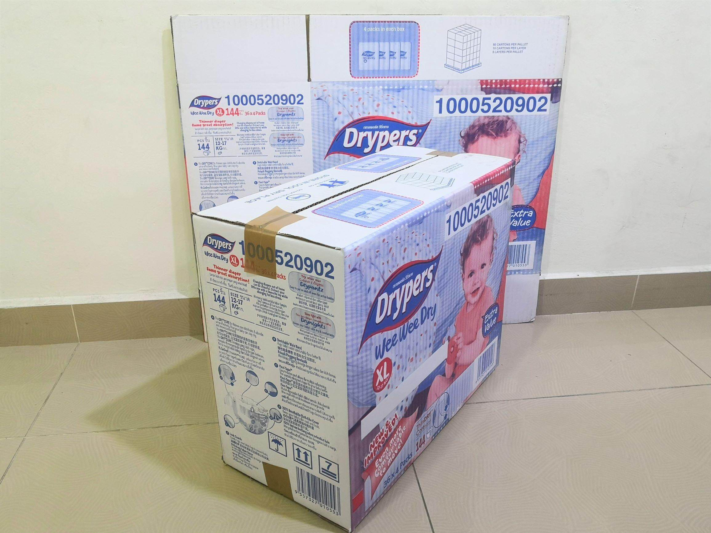 10pcs Printed Carton Boxes (L476 X W232 X H393 mm)