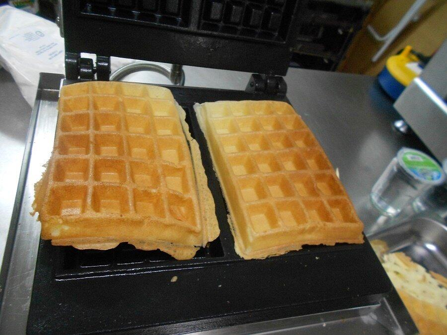 Fresco FNP-540 Waffle Two Rectangle Maker Machine Electric