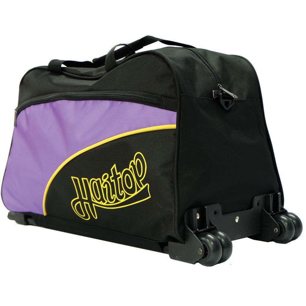 Haitop HT1692R 20 inch Trolley Travelling Bag (Black/Purple)