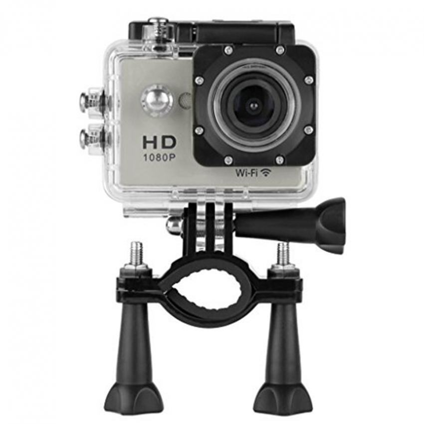 HD 1080p H.264 Waterproof Action Camera Camcorder With Wifi 2 inch Screen (Grey)