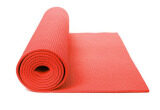 High Quality Non Slip Yoga Mat 6 MM With Bag (Red)