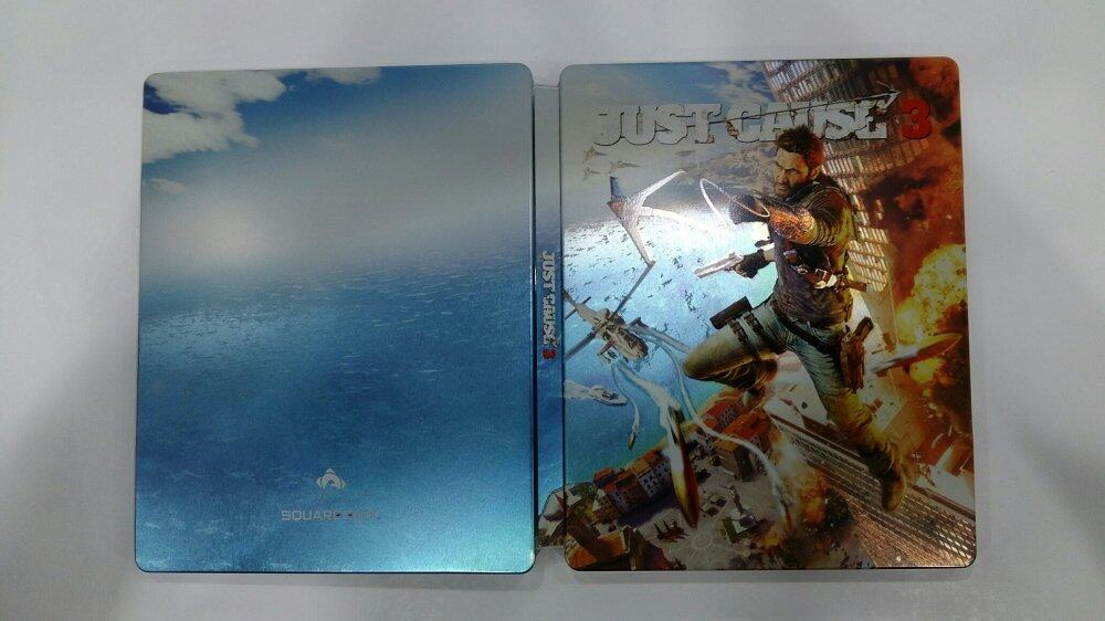 Just Cause 3 Steelbook (No Game)