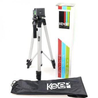 Keep TR-54 Tripod for Camera DSLR and Videocam Nikon Canon Sony Olympus Fujifilm