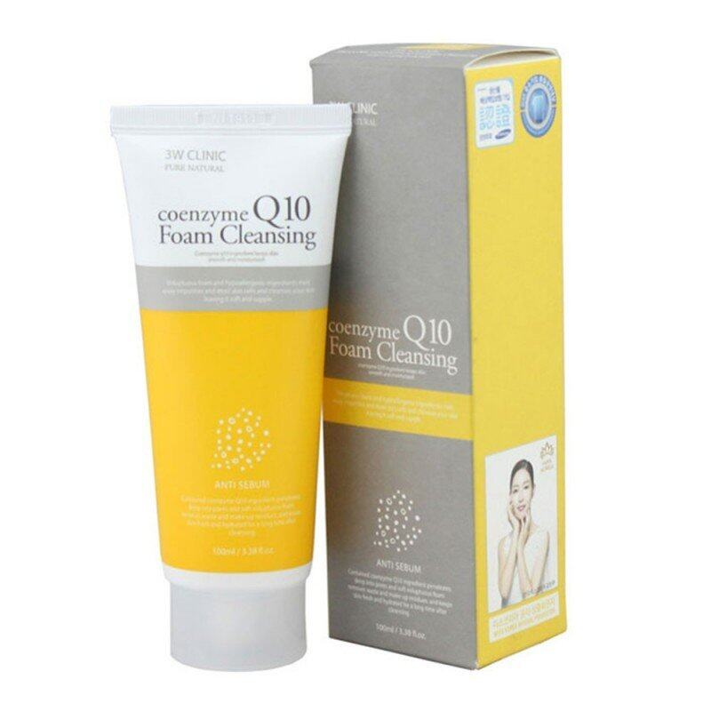 [KOREAN 3W CLINIC] Q10 foam Cleansing  100ml x 1