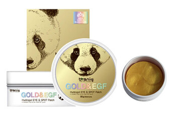 [KOREAN BRANIG] Gold & EGF Hydrogel Eye & Spot Patch (90g/60sheets) MISS KOREA OFFICAL PRODUCT