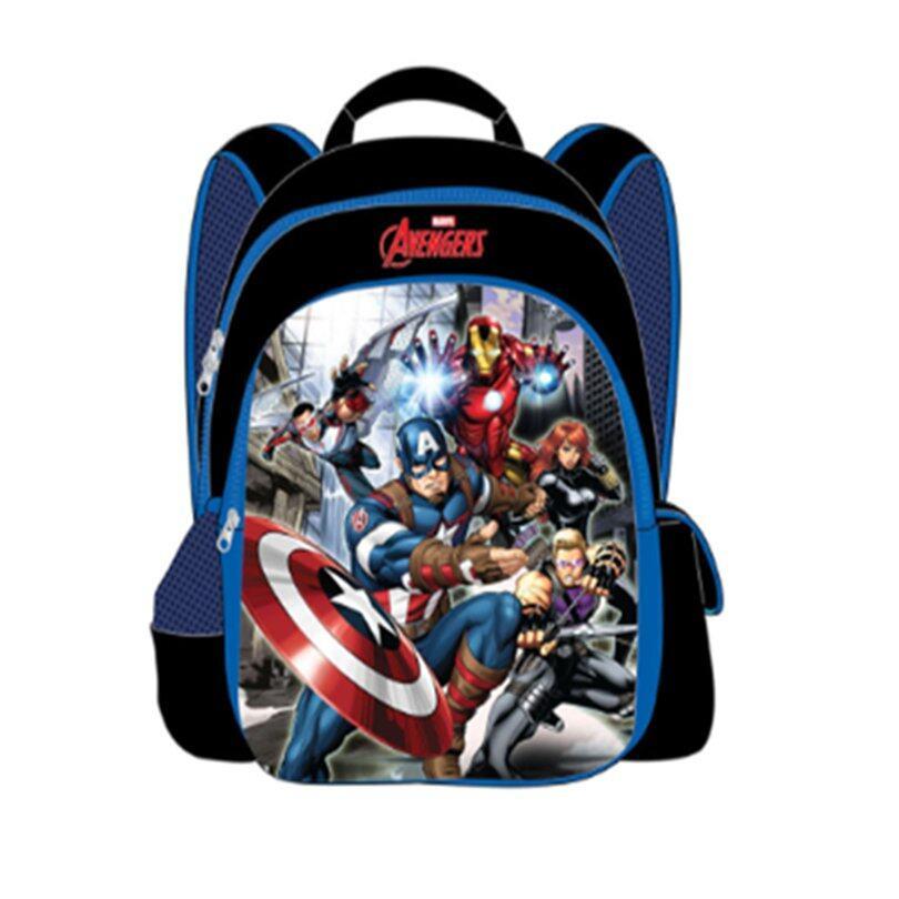 Marvel Avengers Backpack School Bag 16 Inches - Dark Blue Colour