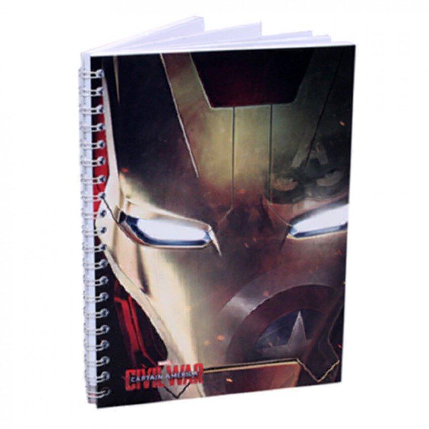 Marvel Avengers Captain America Civil War Notebook - Iron Man