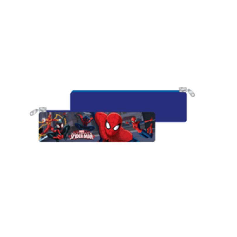 Marvel Spiderman Rectangular Pencil Pouch - Dark Blue Colour