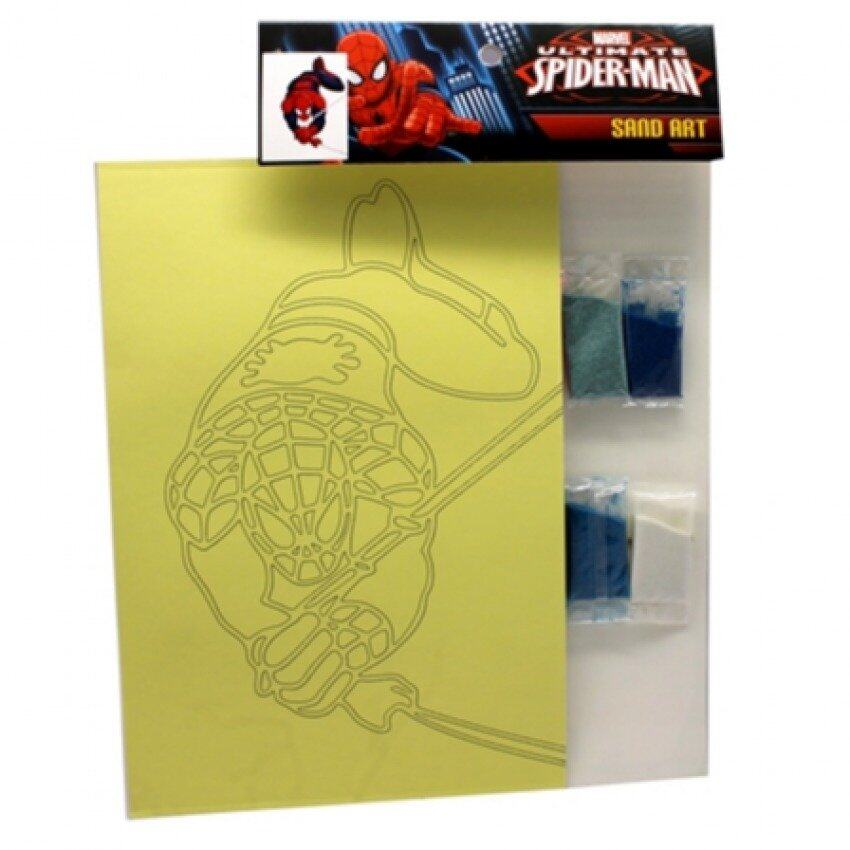 Marvel Ultimate Spiderman Sand Art - Multicolour