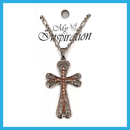 Ouranos Art Christian Gift Keychain Pendants Chain Necklace