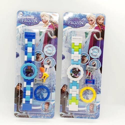 Ready Stock - DIY Creative Lego Watch Jam Tangan Budak