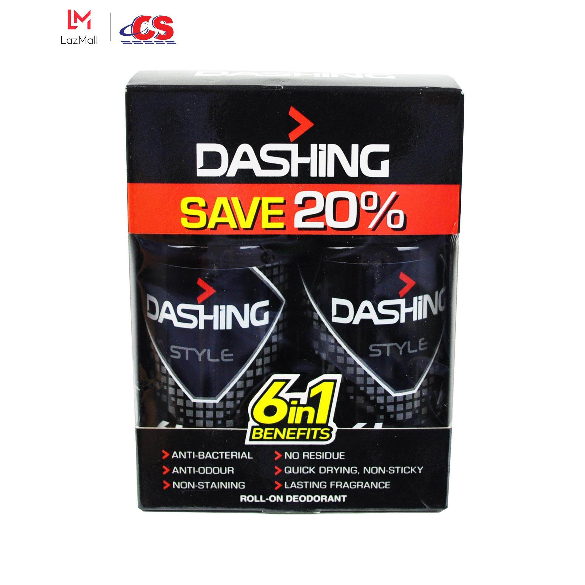 DASHING Roll On Style Twin Pack 2x50ml