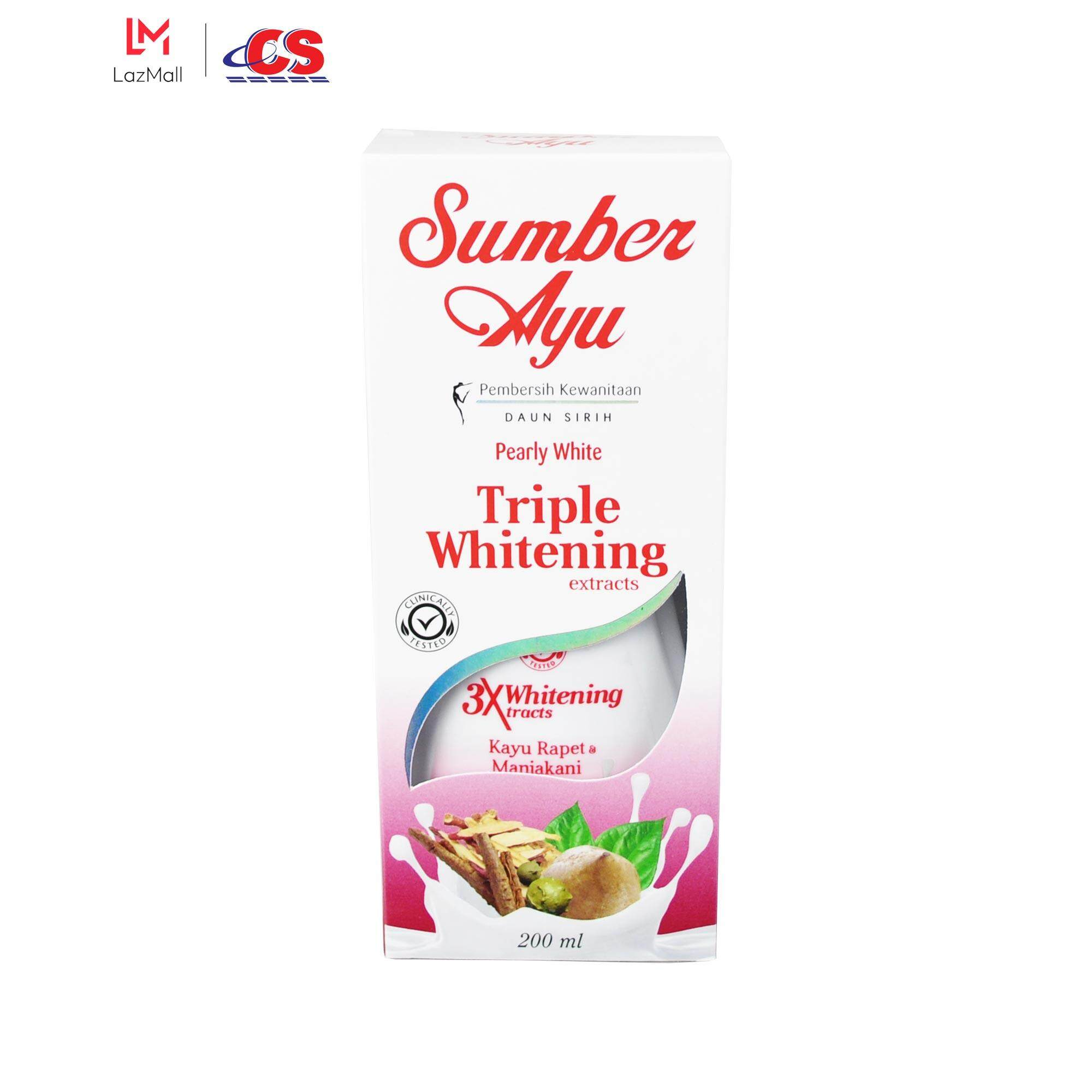 SUMBER AYU Triple Whitening 200ml