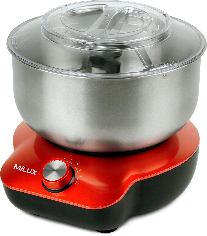 Milux Food Mixer 800W with 5L Mixing Bowl MFM-3615 Mesin Mengadun/Pengadun