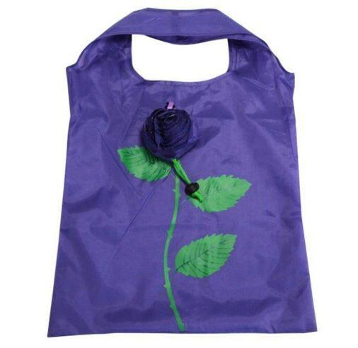 Ready Stock - Recycle Shopping Bag Rose Shape