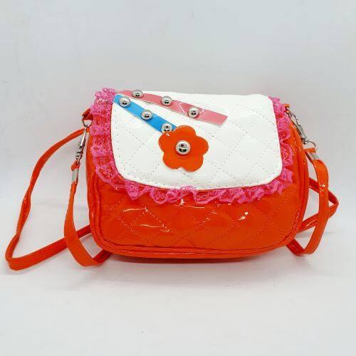 Ready Stock - Cute Flower Design Sling Bag For Kids Girls